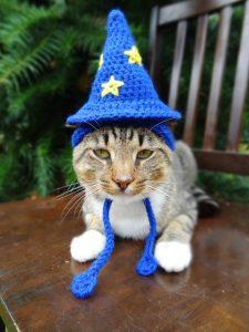 巫師毛線帽