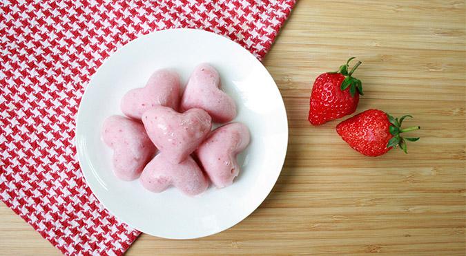 寵物食譜-草莓香蕉冰沙