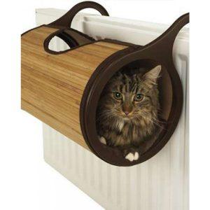 竹編散熱貓床