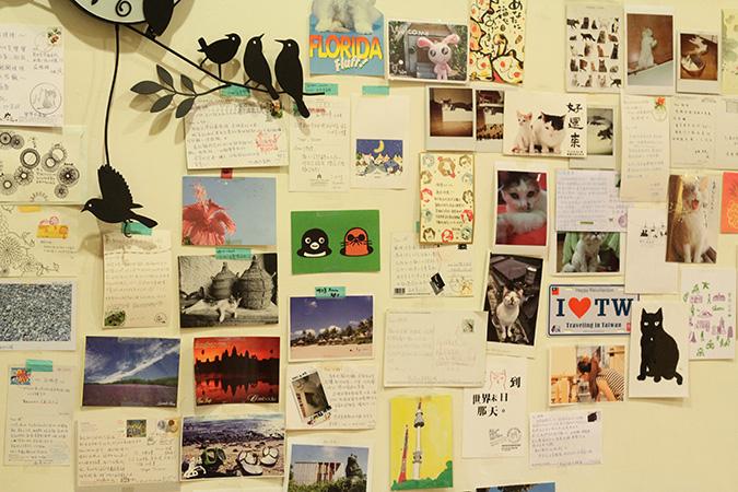 貓咪專屬旅館-甜蜜貓-明信片