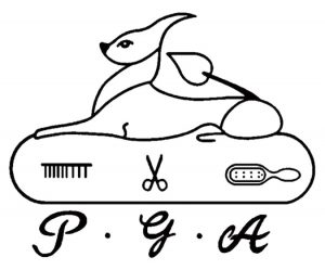 中華民國愛犬美容協會LOGO