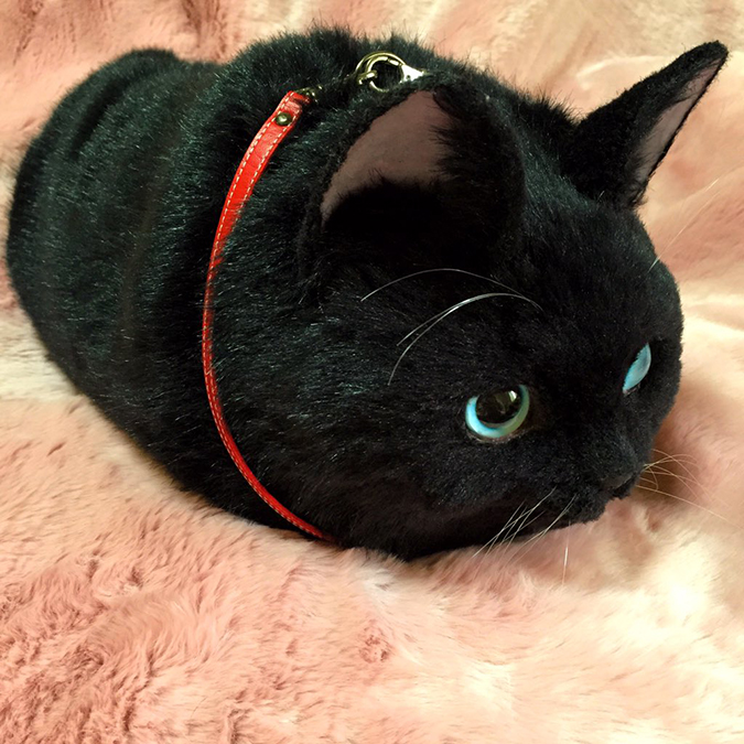 貓奴必拜搶手好物-超擬真貓咪包-1