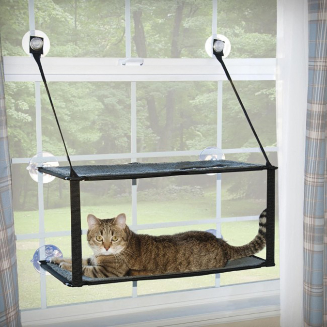 貓奴必拜搶手好物-Cat Crib貓咪吊床-1