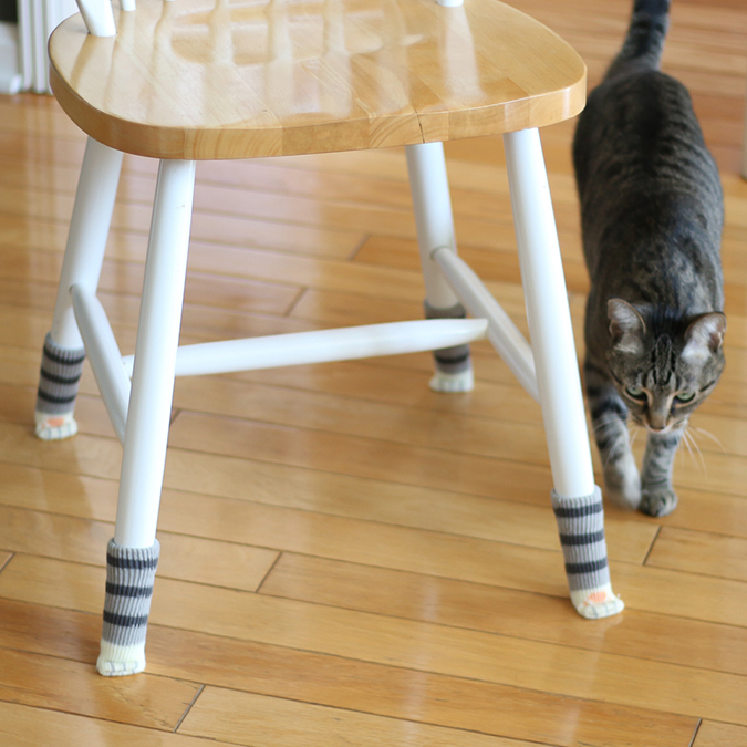 貓奴必拜搶手好物-Muddy Paws椅腳套