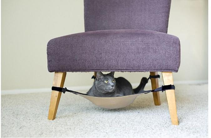 貓奴必拜搶手好物-Cat Crib貓咪吊床