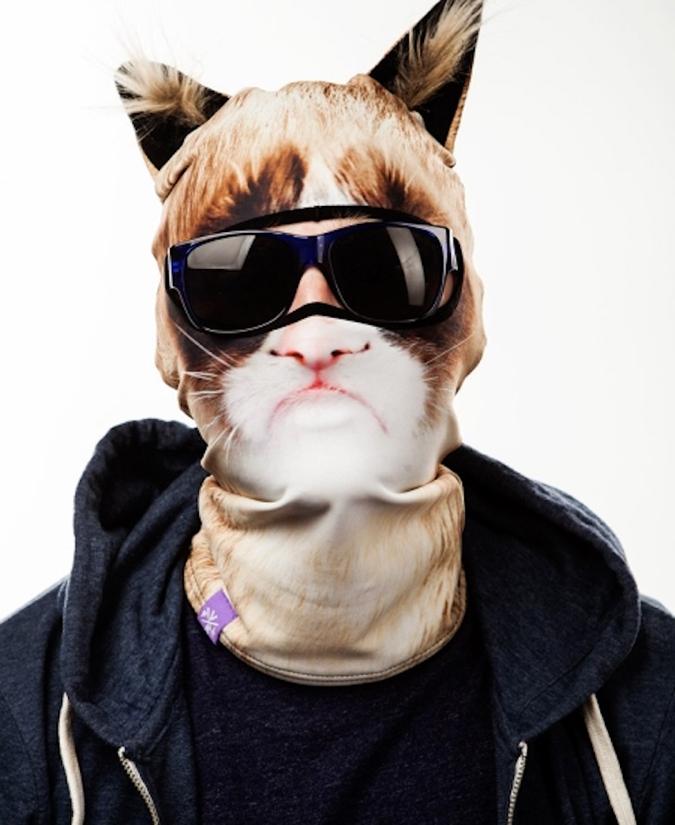 貓奴必拜搶手好物-TEYA SALAT動物臉罩