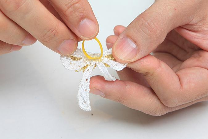 寵物省錢造型術!頭飾領片自己做-蝴蝶結頭花