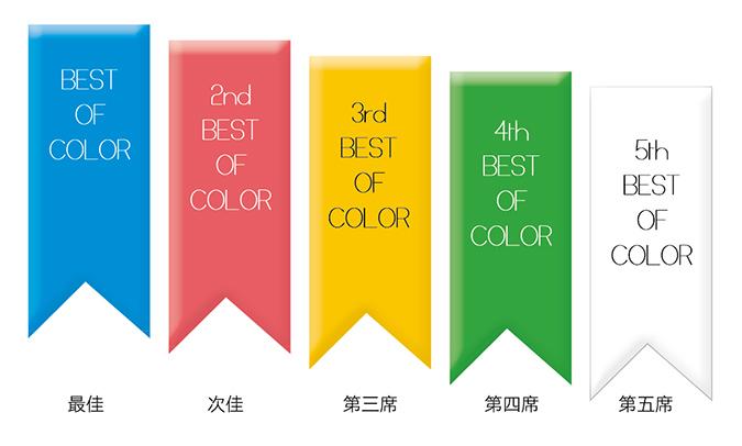 第一審:color毛色組