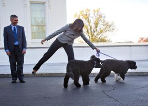 Michelle Obama, Glenn Bustard