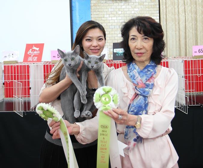 貓模選拔大賽-得獎人合照