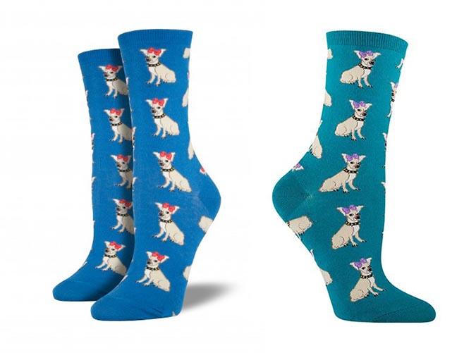 吉娃娃趣味雜貨-襪子3-socksmith