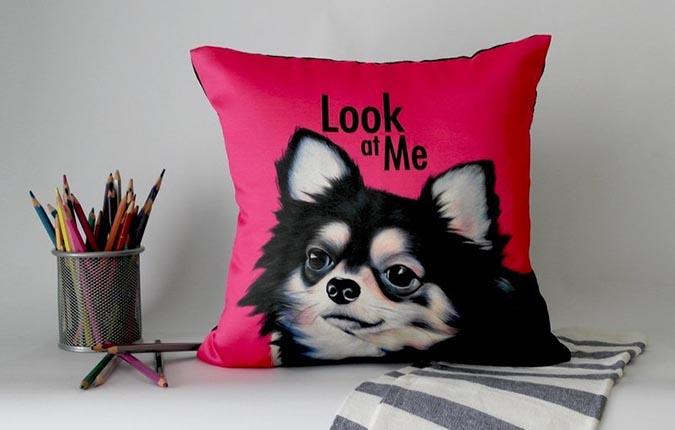 吉娃娃趣味雜貨-抱枕2-pinkoi-com