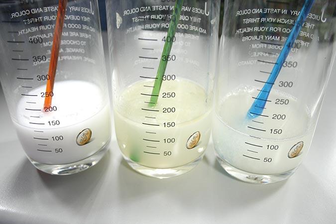 寵物專用手工皂水變成油水分離的狀況