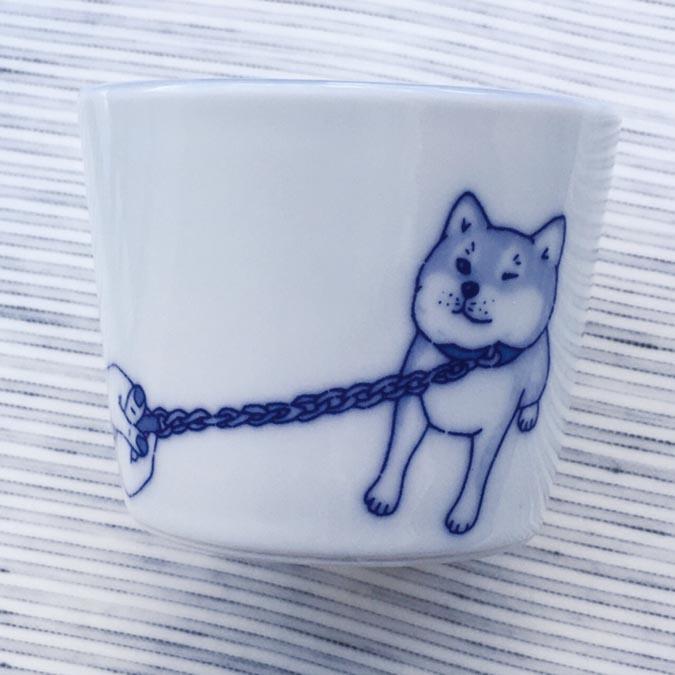 柴犬趣味雜貨-我不要走杯1