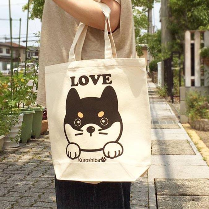 柴犬趣味雜貨-手提袋