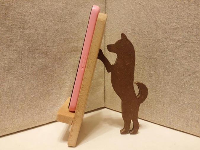 柴犬趣味雜貨-手機架