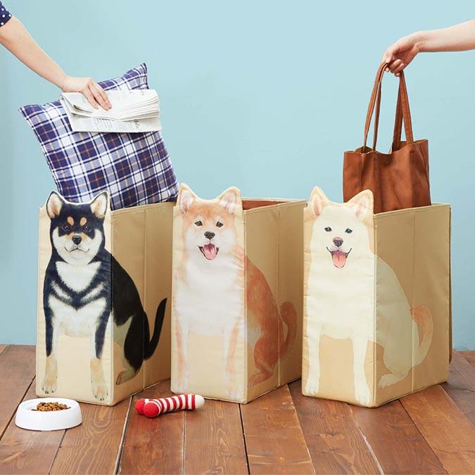 柴犬趣味雜貨-柴犬收納盒