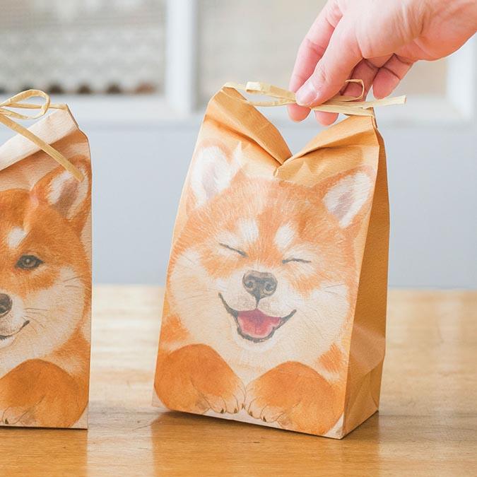 柴犬趣味雜貨-柴犬紙袋