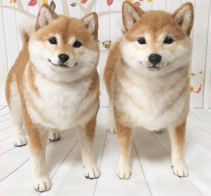 柴犬趣味雜貨-羊毛氈