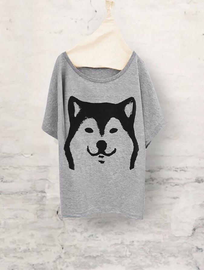 柴犬趣味雜貨-tshirt