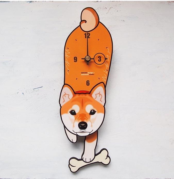 柴犬趣味雜貨-擺鐘