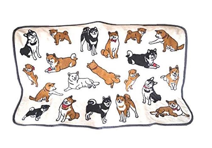 柴犬趣味雜貨-毛毯