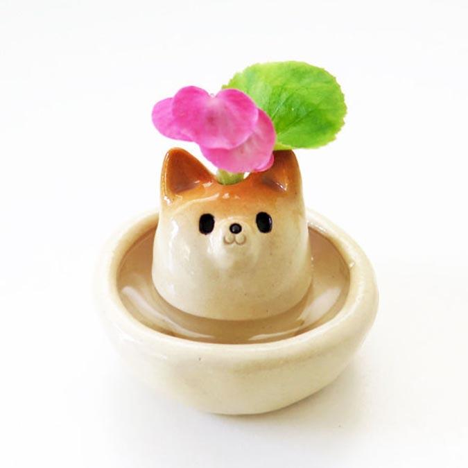 柴犬趣味雜貨-花瓶