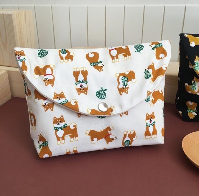 柴犬趣味雜貨-pinko-化妝包