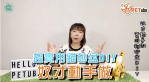 哈寵PETube-No.68 奴才動手做:超實用貓砂盆DIY
