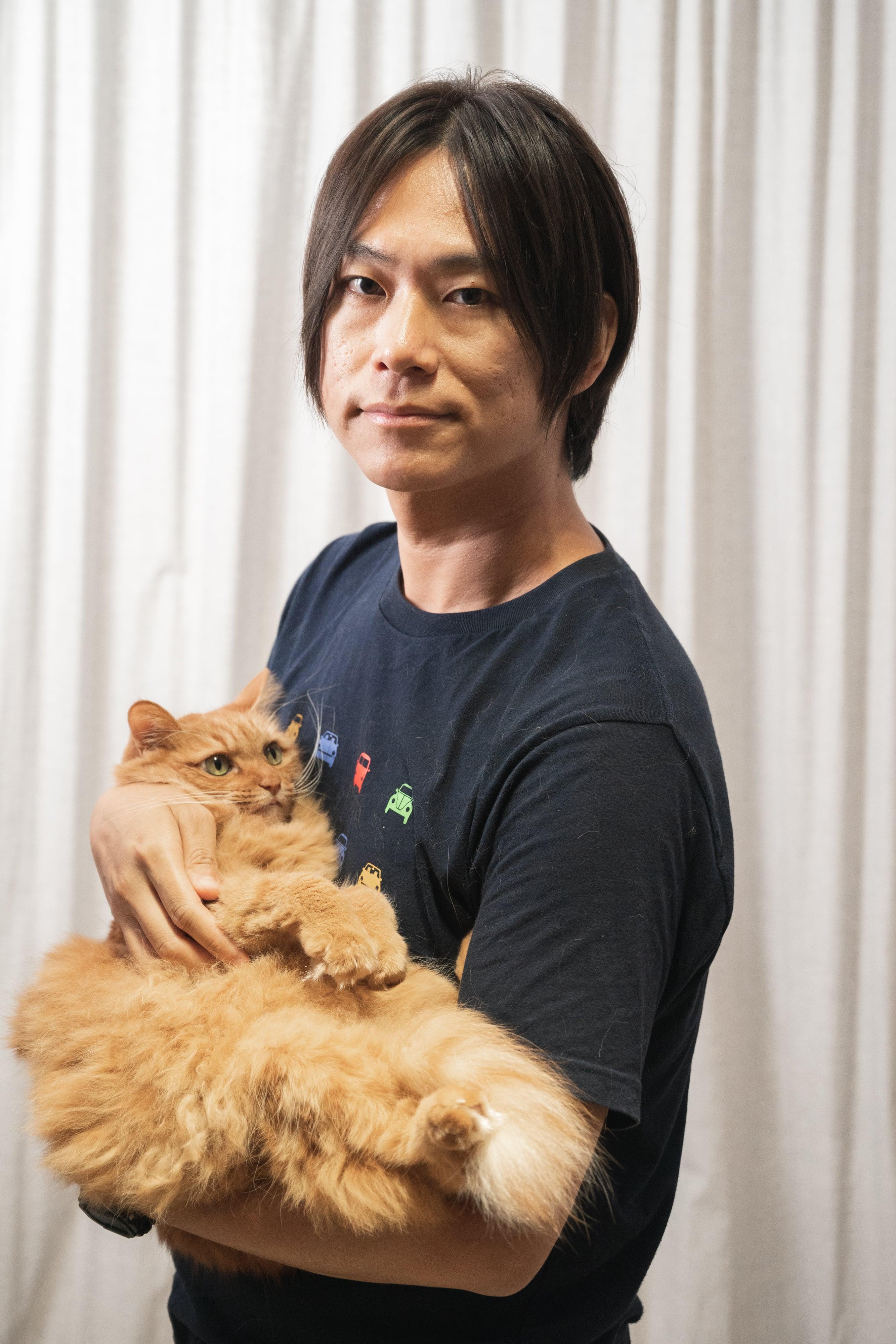 這一人、一貓之間一路走來彼此依賴、彼此成長