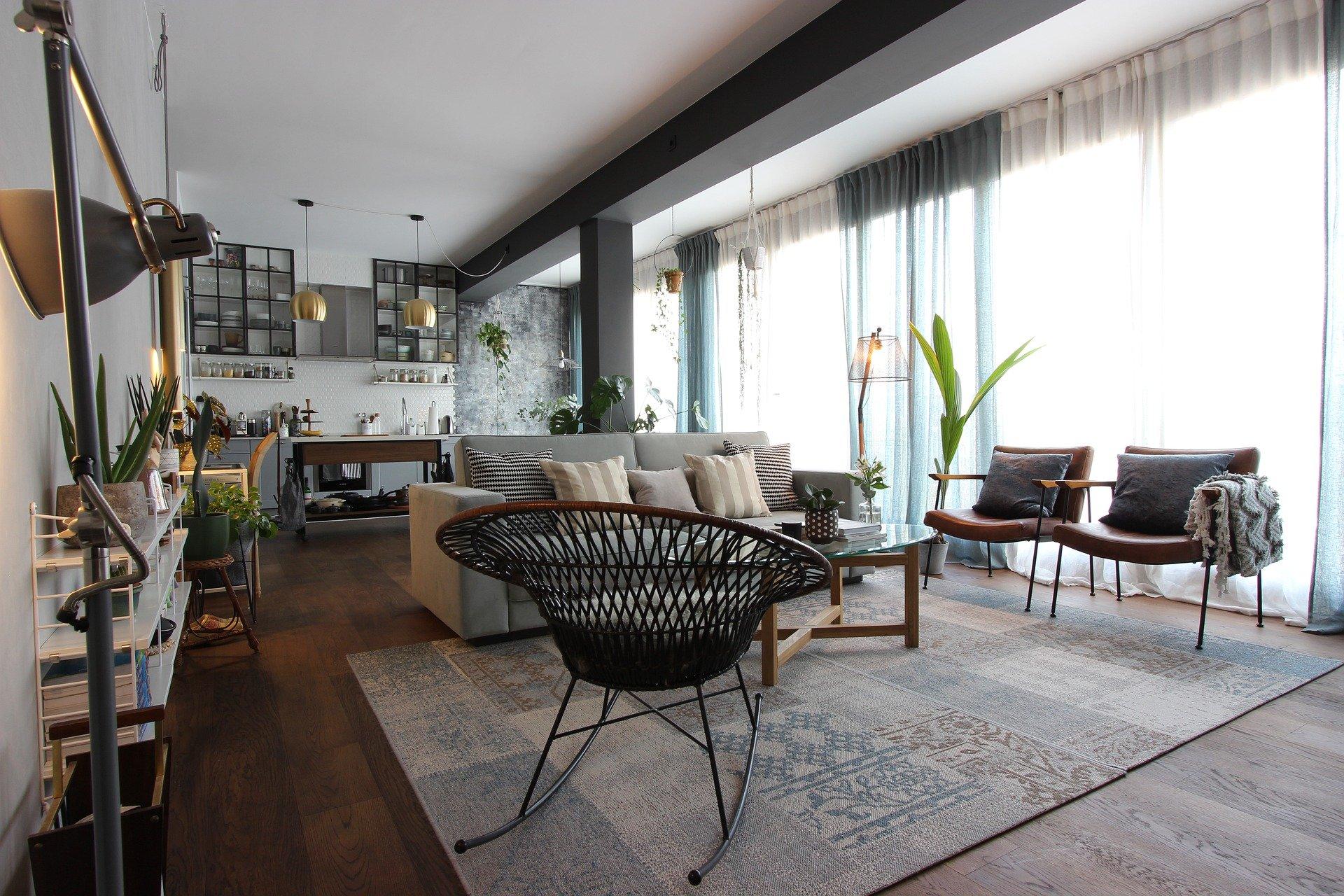 開放式的空間設計雖可使居家空間看起來寬敞通透,對狗狗們來說卻可能是種無形壓力