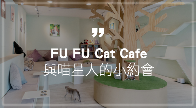 FU FU Cat Cafe 與喵星人的小約會